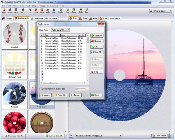 Acoustica - Cd/Dvd Label Maker (Download)