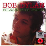 BOB DYLAN - FOLKSINGER'S CHOICE LP (180G)  (COLOURED VINYL)