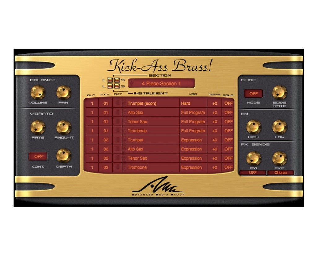AMG - Kick-Ass Brass! World Class Virtual Horn Section (Download)