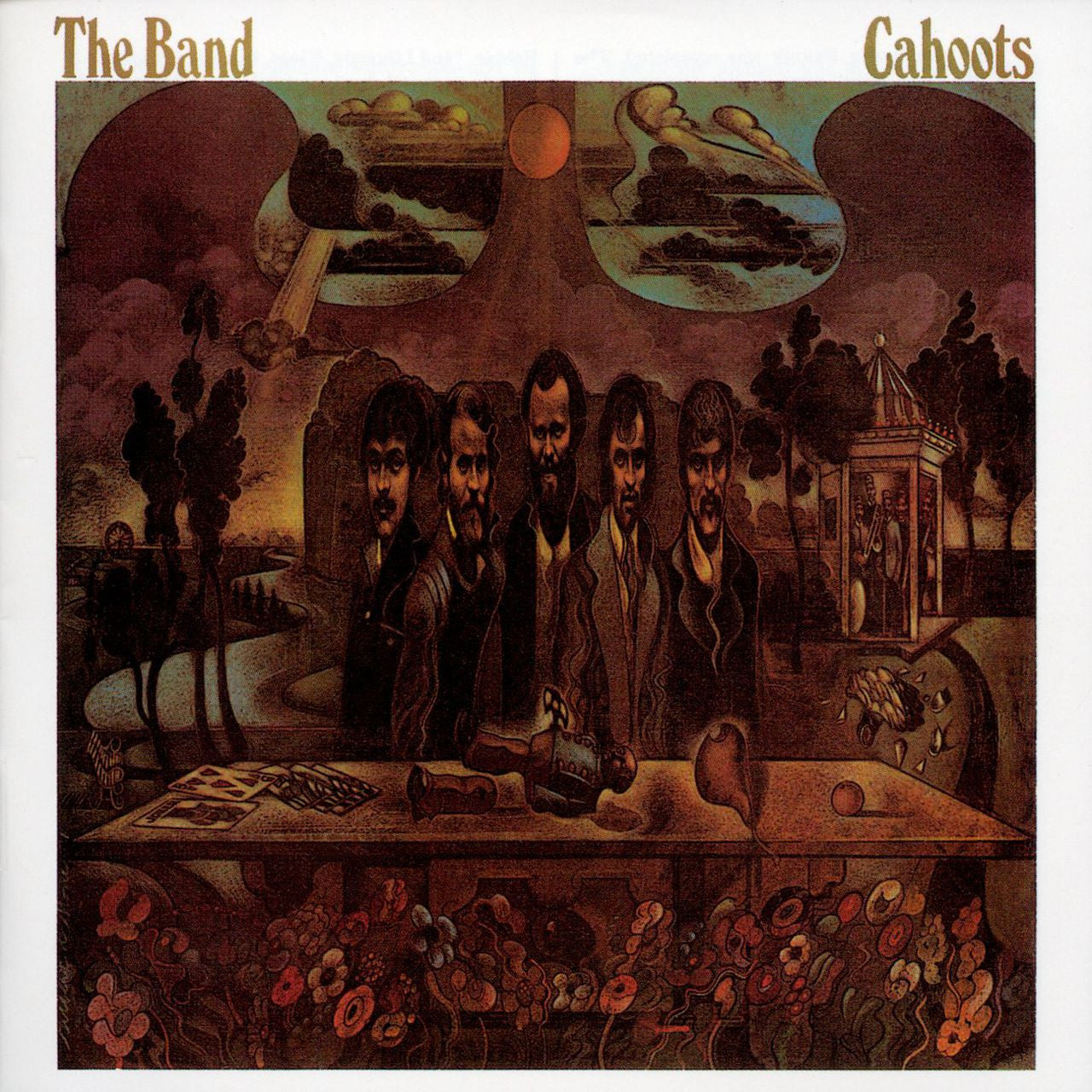 THE BAND - CAHOOTS LP