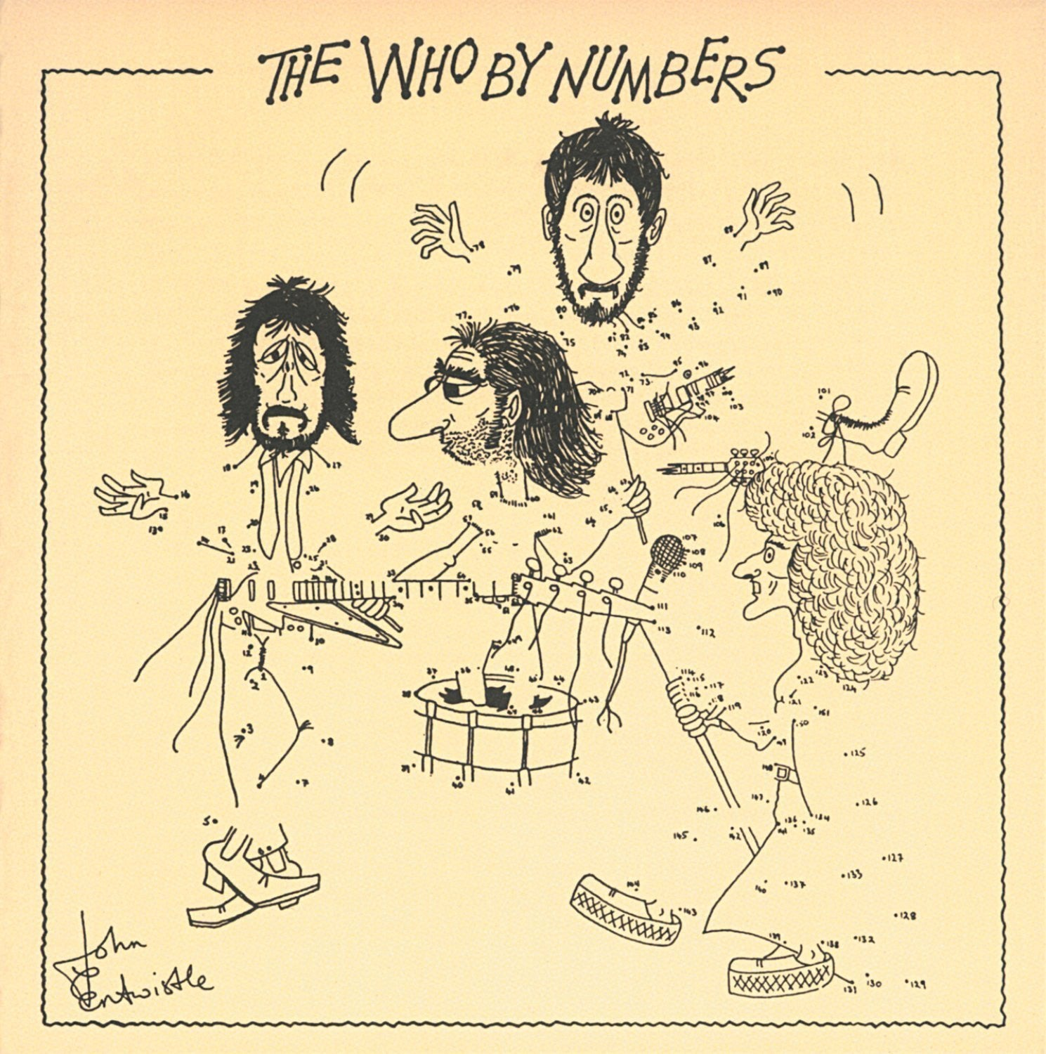 THE WHO - BY NUMBERS LP