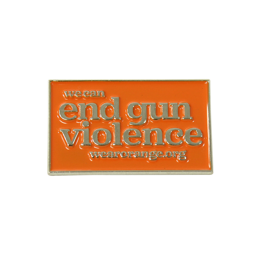 Wear Orange Pin