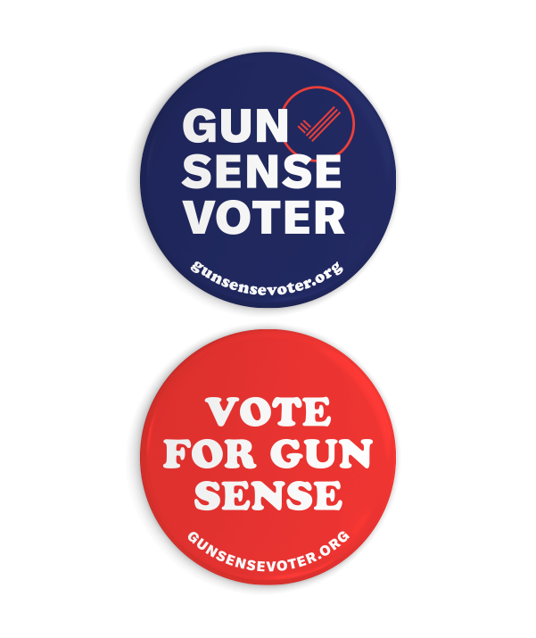 Gun Sense Texas Button Set