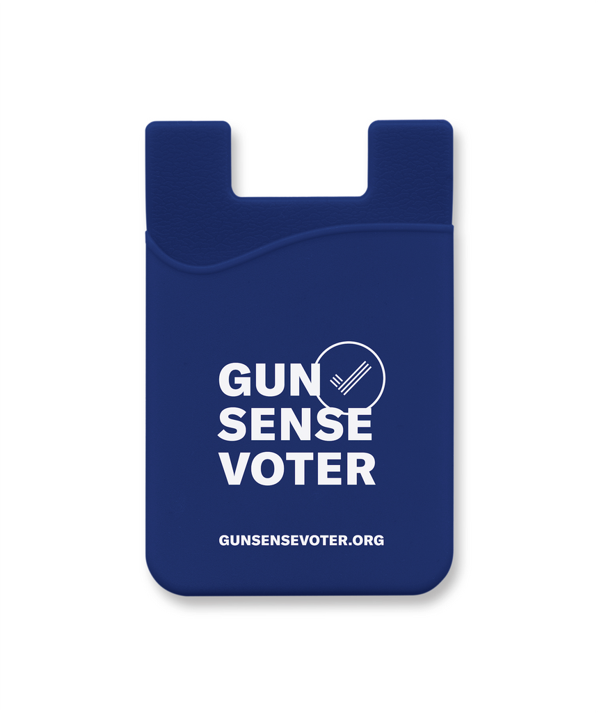 Gun Sense Voter Phone Wallet