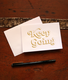 Keep Going Note Card Set