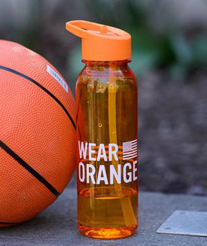Wear Orange Sports Water Bottle