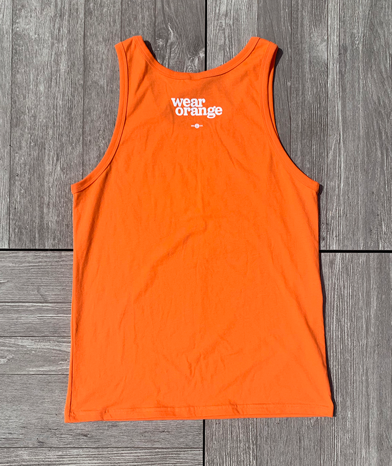 Wear Orange Tank Top