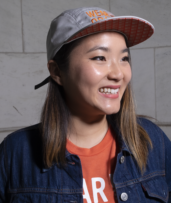 Wear Orange Five Panel Hat