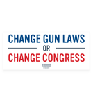 Change Gun Laws Car Magnet