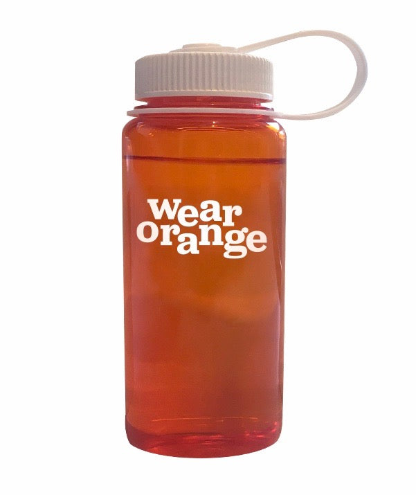 Wear Orange Water Bottle