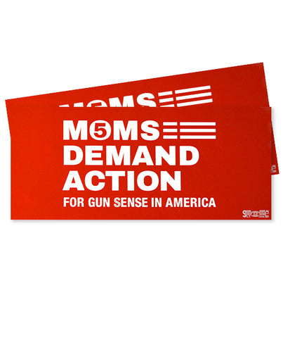 Moms 5 Year Bumper Sticker Pack