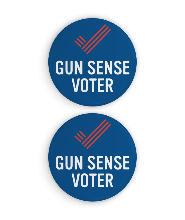 Gun Sense Voter Button Set