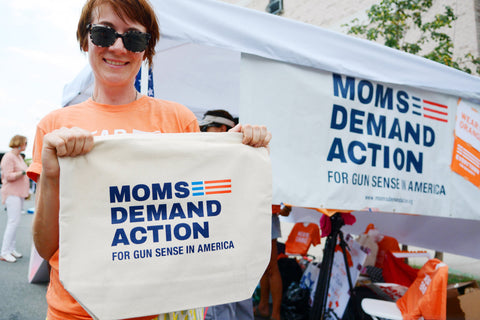 Moms Demand Action Volunteer Tote Bag