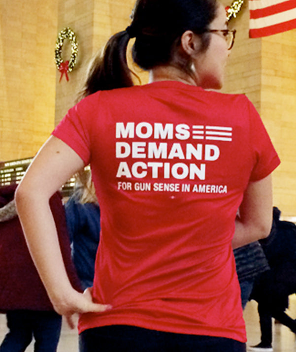Moms Demand Action Workout Tee