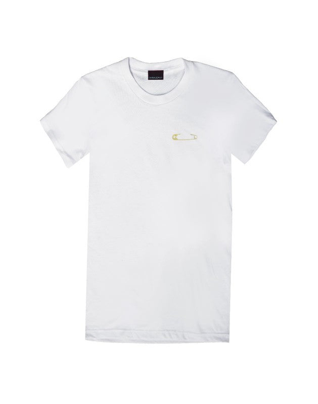 Cynthia Rowley Safety Pin Tee