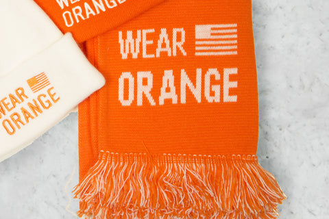 Wear Orange Winter Scarf