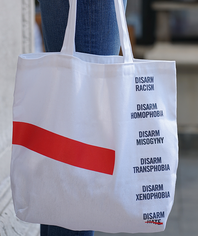 Disarm Hate Tote