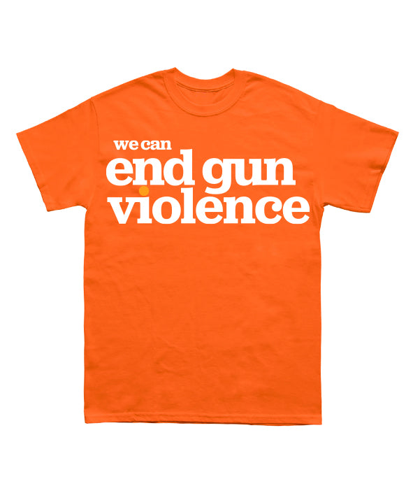 Wear Orange End Gun Violence Tee
