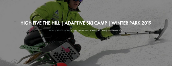 High Fives Foundation Adadtrive Ski Camp Winter Park 3019