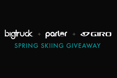 bigtruck parlor giro spring skiing giveaway blog header