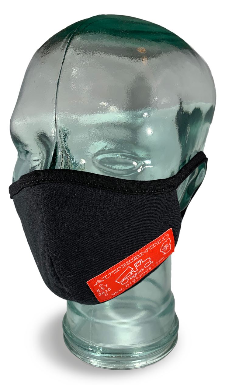 Cloth Facemask Black