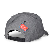 Gunmetal Grey Chambray Cap