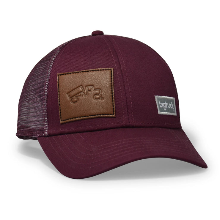 Wine Leather Patch Classic