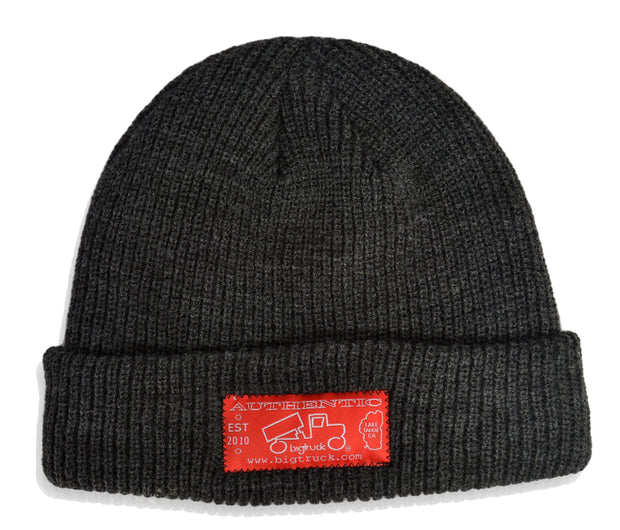 LIMITED EDITION Dark Grey Fold Beanie
