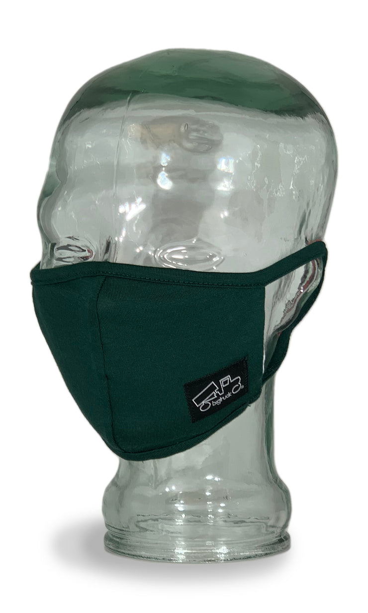 Cloth Facemask Forest Green
