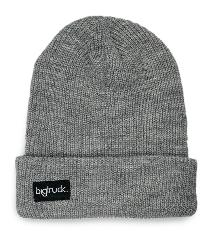 LIMITED EDITION Light Grey Fold Beanie