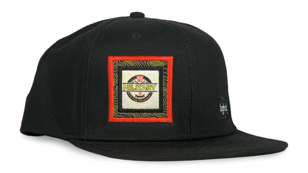 Military to the Mountain - Pro Black - High Fives x bigtruck®