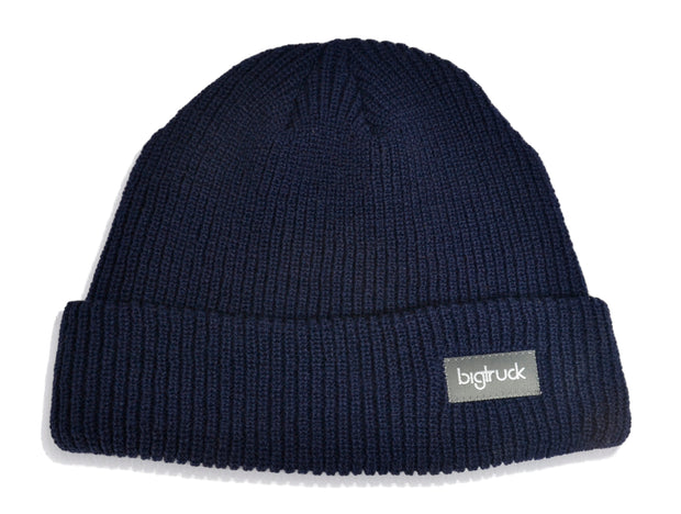 LIMITED EDITION Navy Fold Beanie