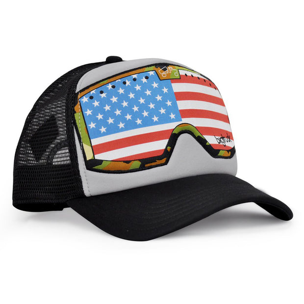Grey Black G.Line American Flag Goggle Original