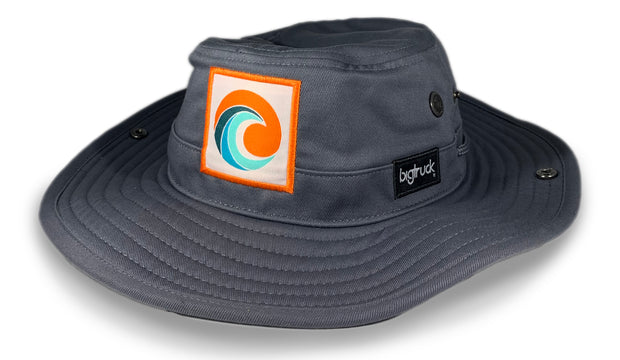 Charcoal Brim Orange Crush