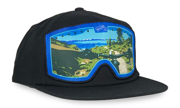 Pioneer Navy Mountain Bike Goggle