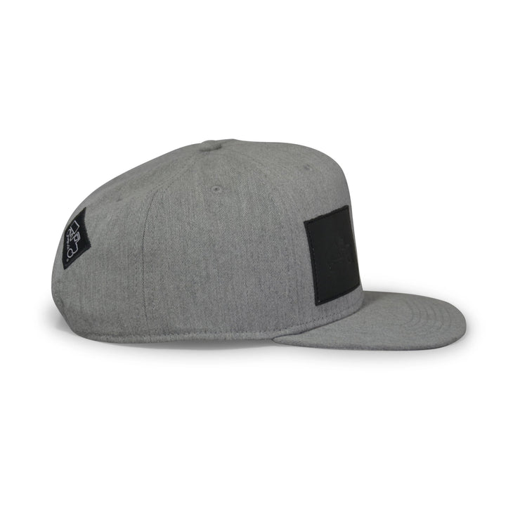 Grey Leather Patch Pro