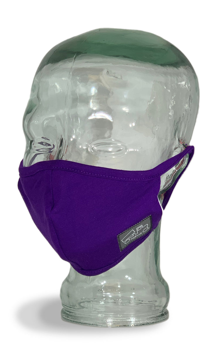 Cloth Facemask Plum