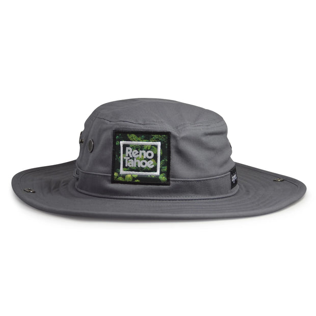 Charcoal Reno Tahoe Brim Beach Bucket