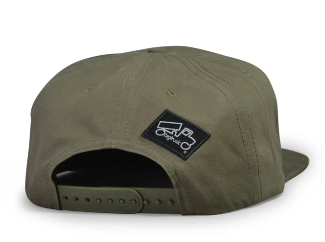 Military to the Mountain - Olive Pioneer - High Fives x bigtruck®