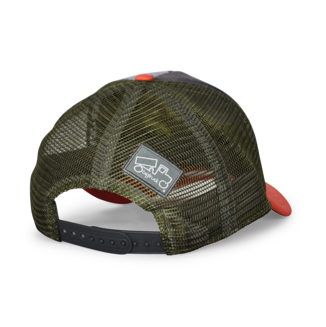 Original Low Profile Sublimated Napali Coast Salmon