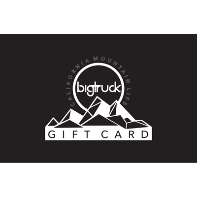 bigtruck® Physical Gift Card