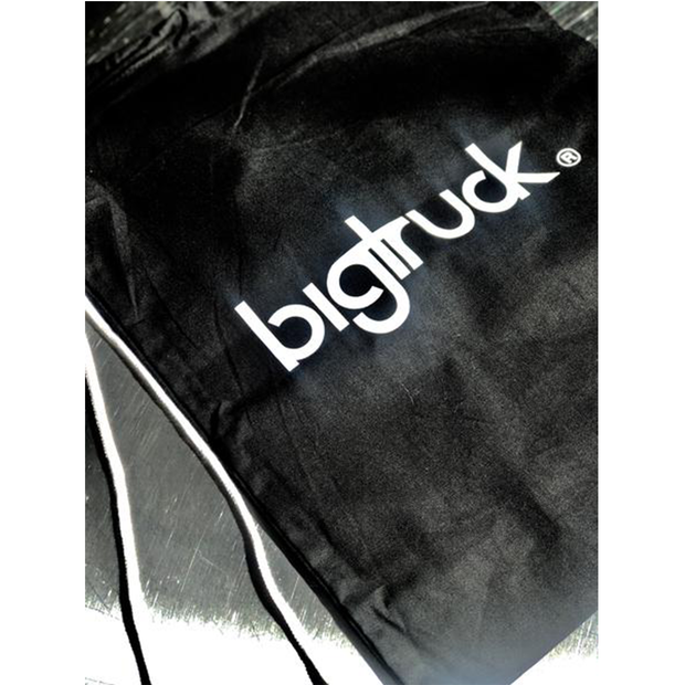 Black bigtruck® Tote Bag