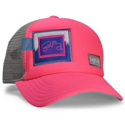 LIMITED EDITION Kids Neon Pink Grey Treeline Original