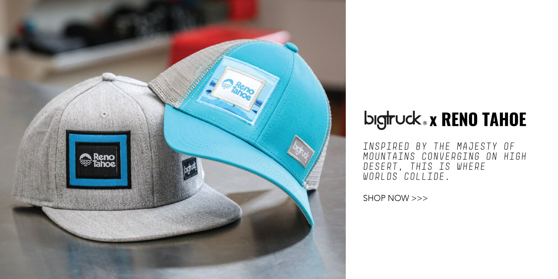 bigtruck sublimated hats