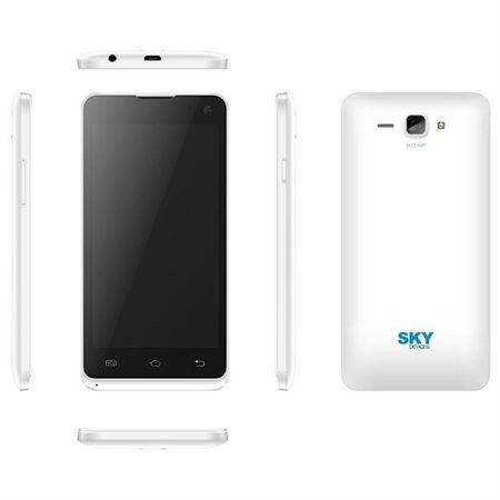 Sky Devices 4.5D 4GB 3G/4G Android4.4 Unlocked Smartphone (White)