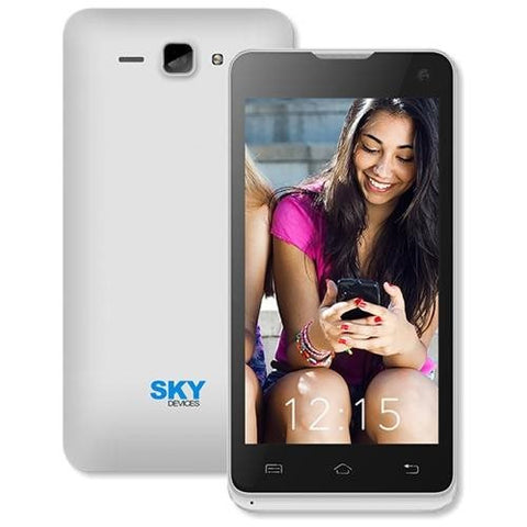 Sky Devices 4.5D 4GB 3G/4G Android4.4 Unlocked Smartphone (Silver)