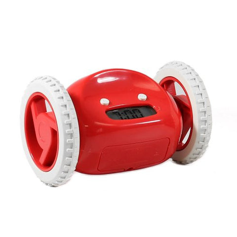Clocky Moving Alarm Clock Red