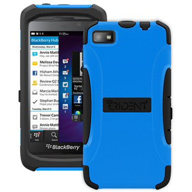 Trident BlackBerry Z10 Aegis Blue