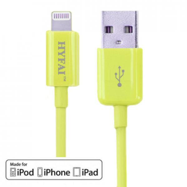 3' USB 2.0 Lightning Cable - Male/Male - Hyfai