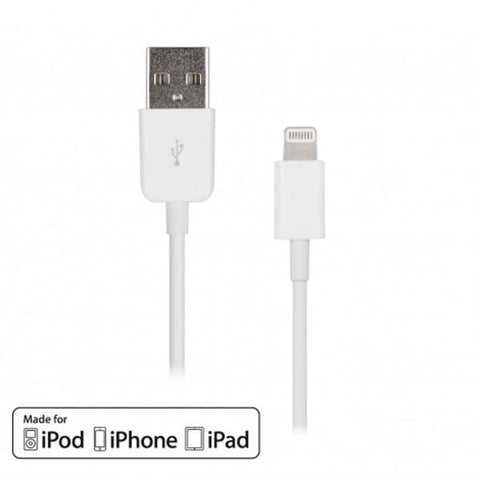 10' USB 2.0 Lightning Cable - Male/Male - TechCraft